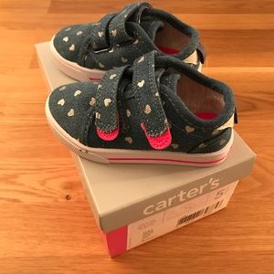 Chambray Sneakers 💕NWT